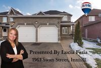 Spacious 4bed/4bath, backing onto EP. Swan st Innisfil.
