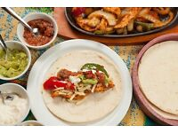 Chef required for busy city centre Mexican Restaurant