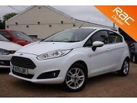 2016 65 FORD FIESTA 1.2 ZETEC 5D 81 BHP - USED CAR DEALER OF THE YEAR