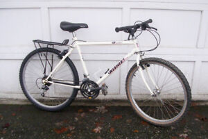 "NISHIKI ""EXPEDITION"", 21 SPEED COMMUTER (WHITE)"