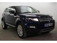 2013 Land Rover Range Rover Evoque SD4 PRESTIGE LUX Diesel blue Automatic