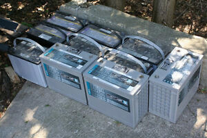 USED SOLAR BATTERIES DONT WASTE YOUR MONEY!!!