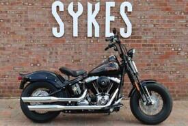 2009 Harley-Davidson FLSTSB Softail Cross Bones in Vivid Black