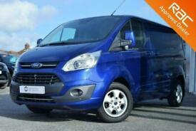 2017 Ford Transit Custom 2.0 270 LIMITED LR P/VAN 130BHP LOW MILES PANEL VAN Die