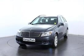 2009 MERCEDES C-CLASS C180 KOMPRESSOR BLUEEFFICIENCY SE ESTATE PETROL