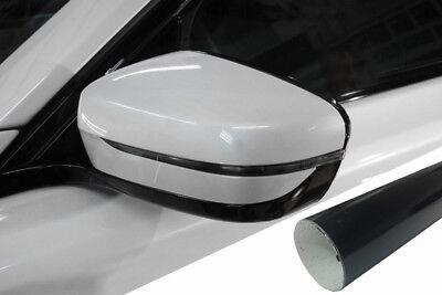 PREMIUM Spiegel Spiegelgehäuse Kappe Design Folie Schwarz Glanz viele Fahrzeuge