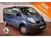 2011 Renault Trafic passanger-9 SEATER BUS-SAT NAV-NO VAT-NO VAT-
