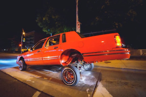 1991 Lincoln Towncar Cartier Edition Lowrider