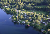 Campground Camping Saisonniers lots disponible range du lac
