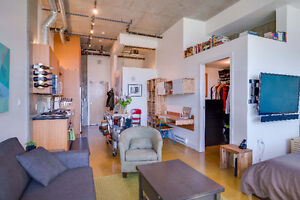 Big comfy studio near Cambie, Broadway and the Seawall