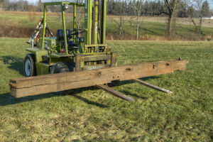 Antique Hand-Hewn Barn Beam 14.5 ft London Ontario image 5