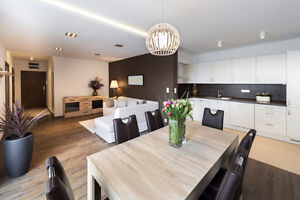 1 Bedroom + DEN modern apartment/condo for lease in lovely Byron