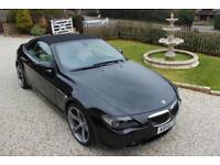 BMW 6 Series 4.8 650i Convertible 2d 4799cc auto
