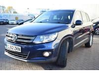 2012 Volkswagen Tiguan 2.0 TDI BlueMotion Tech SE Station Wagon DSG 4WD 5dr