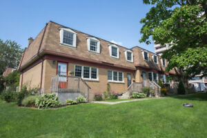 3 bedroom reno'd Townhouse available Sept 1