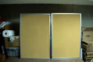 2 Never used Cork boards