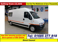 2003 PEUGEOT BOXER 350 2.8HDI LX LWB MOBILE YOUTH CENTRE / CAMPER / MOTORHOME