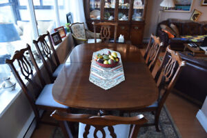 Kaufman Dining room table and hutch