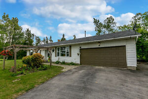 New price on this beautiful country home in Angus!
