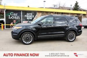 2013 Ford Explorer 4WD LEATHER LOADED CHEAP 7 PASSENGER