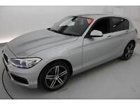 2016 BMW 1 SERIES 118i [1.5] Sport 5dr