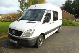 Mercedes Sprinter Campervan large rear lounge for sale