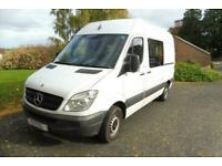 Mercedes Sprinter Campervan large rear lounge for sale