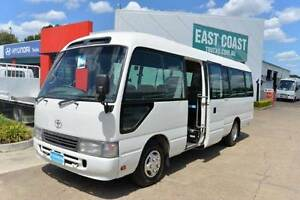 TOYOTA COASTER DELUXE ** 21 SEATS ** CHARTER BUS ** #4955 Archerfield Brisbane South West Preview