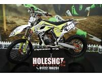 2017 HUSQVARNA TC 85 MOTOCROSS BIKE BIG WHEEL, TALON HUB SET, NEW GRIPS