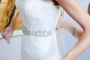 ****BEAUTIFUL Wedding Dress - Size 2- Pronovias Downtown-West End Greater Vancouver Area image 6
