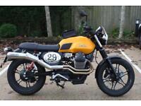 Fully loaded and unregistered Moto Guzzi V7 II Stone