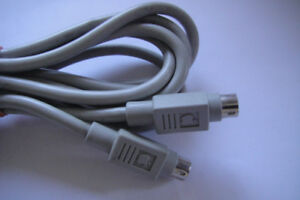 Apple 590-0552-A 8 Pin Din 6 FT Printer Cable