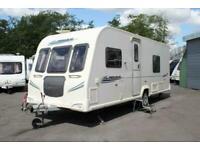 Bailey Pegasus 534 4 Berth Fixed Bed End Washroom Caravan 2010 Inc Motor Mover !