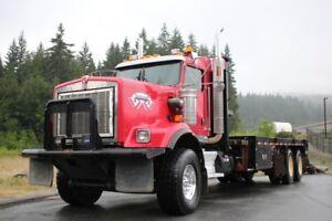 2012 Kenworth C500 Bed Winch Truck