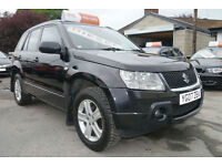 2007 SUZUKI GRAND VITARA 1.9DDiS DIESEL 4x4 in BLACK TOW BAR FITTED