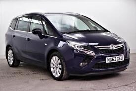 2014 Vauxhall Zafira Tourer TECH LINE Petrol blue Manual