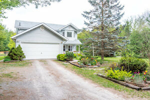 Enjoy This Private Country Setting. W/2 Spacious Acres Of Land