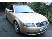 Audi **A4 CABRIOLET** 1.8T Convertible Sport +TRADE CLEARANCE - SPARES / REPAIR+