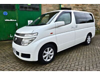 Nissan Elgrand Campervan (NEW CONVERSION)