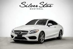 2017 Mercedes Benz C300 4MATIC Coupe STAR CERTIFIED INCLUDED
