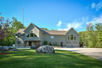 Magnificent country home nr Owen Sound