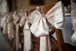 Wedding Bows For Chairs