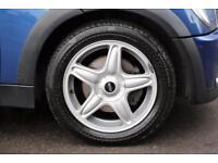 2007 MINI Convertible 1.6 One 2dr Petrol blue Manual