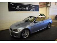 2010 59 BMW 3 SERIES 3.0 330D M SPORT 2D AUTO 242 BHP CONVERTIBLE DIESEL