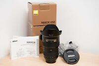 Nikon AF-S 16-35mm f/4 VR Lens. GREAT CONDITION, IN BOX!