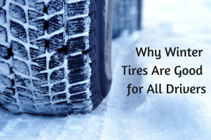 Winter Tires - 225R16 - Set of 4 - Steel Rims - 5mm tread