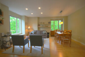 UBC Quiet + Renovated 3 Bedroom Townhome- Perfect for Faculty!!