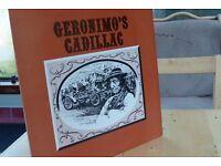 Signed Geronimo's Cadillac by Fying Haggis. 1979 Alba Records, Edinburgh