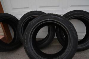 The set of Winter Nokia Hakkapeliitta tyres