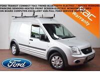 2012 Ford Transit Connect 1.8TDCi T230 LWB-F.F.S.H.-PARK SENSORS-BLUETOOTH-NOVAT